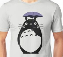 Totoro on a rainy day Unisex T-Shirt