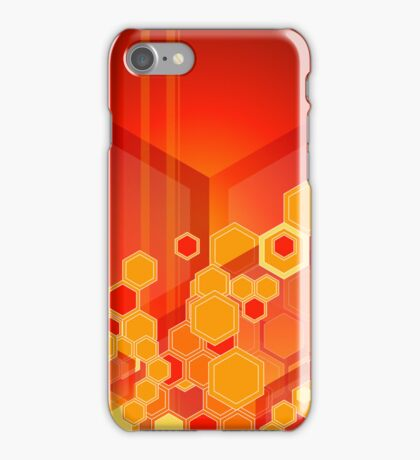 Retro 80's Abstract Design iPhone Case/Skin