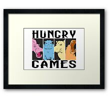 Hungry Hippo Games Framed Print