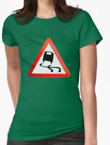 Camper Van Womens Fitted T-Shirt