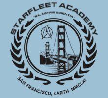 Star Trek Starfleet Academy t-shirt  by chadkins