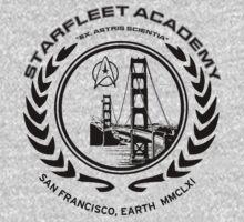 Star Trek Starfleet Academy t-shirt  Kids Clothes