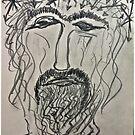 Christ in Distress . Pensive Christ . Chrystus Frasobliwy. by Andrzej Goszcz. by © Andrzej Goszcz,M.D. Ph.D
