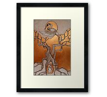 Waiting to be Born Again Framed Print