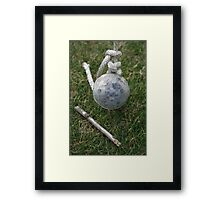 """""""Tent Spike with Twig"""" Framed Print"""