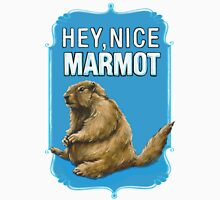 BIG LEBOWSKI- the Dude - Hey, Nice Marmot Unisex T-Shirt