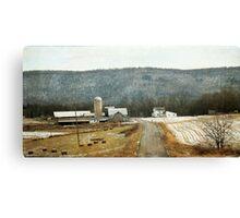 Countryside Memories Canvas Print
