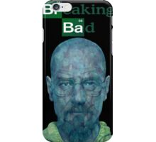 Walter white Crystal blue iPhone Case/Skin