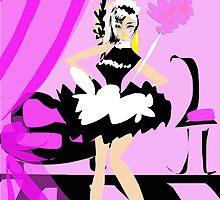 Glamour Maid by Carolina Sherwani
