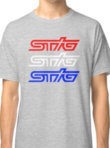 STIG - RED WHITE AND BLUE Classic T-Shirt