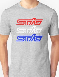 STIG - RED WHITE AND BLUE Unisex T-Shirt