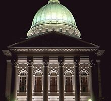 Wisconsin Capitol at Night by Timothy  Ruf