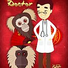 Doctor Year Of The Monkey, Chinese New Year - Male Doctor by Moonlake