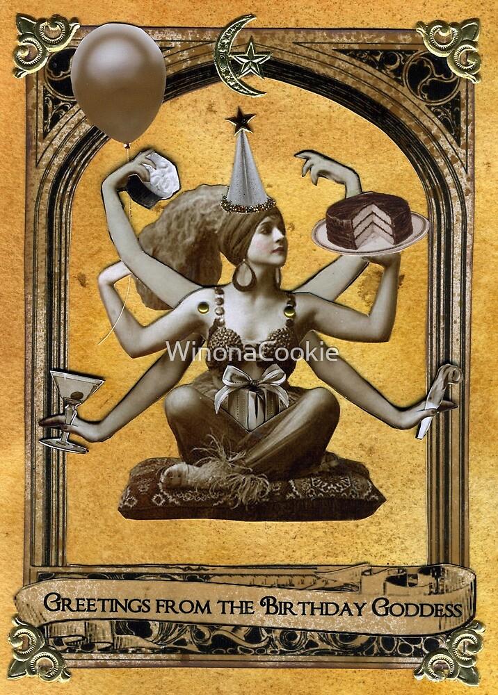 Birthday Goddess by WinonaCookie