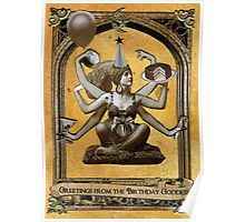 Birthday Goddess Poster