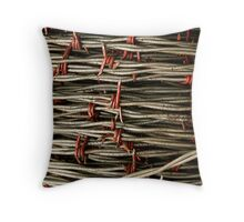 """Wired"" Throw Pillow"