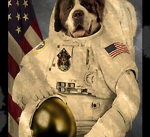 First Dog In Space by AlexanderCurran
