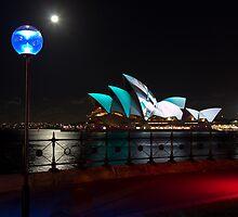 Vivid's Opera House by Yvonne Jetson