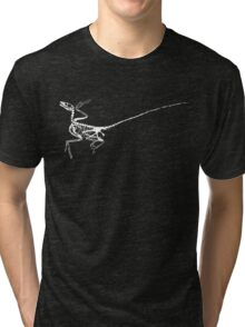 Tiny Thief - White Tri-blend T-Shirt