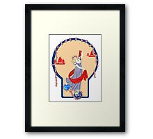 Tarot Two of Coins Framed Print