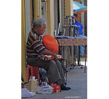 Lone Salesman Photographic Print