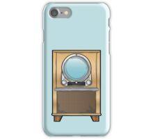 Retro 1950's Television Set iPhone Case/Skin