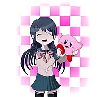 Maizono Sayaka and Kirby Photographic Print