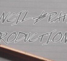 Pencil & Paper Productions logo Sticker