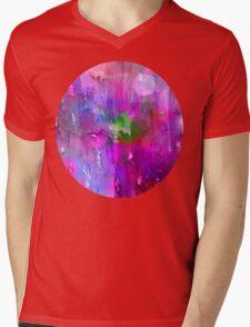 midnite Purple Mens V-Neck T-Shirt