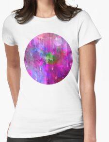 midnite Purple Womens Fitted T-Shirt