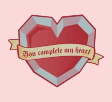 You complete my heart Baby Tee