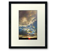©TSS The Sun Series XIV Framed Print