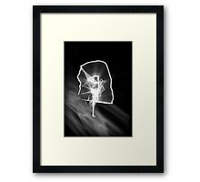 ©NLE On The Blue Blaze IA Monochrome Framed Print