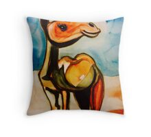 Cheeky camel  Throw Pillow