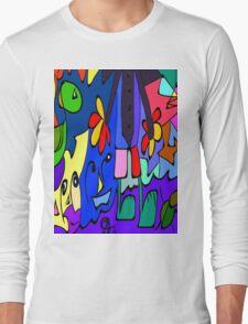 Brazil Artis Rodrigo Exclusive Art Long Sleeve T-Shirt