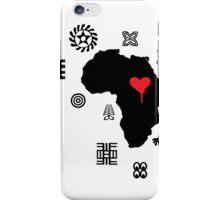 AFRICAN ADINKRA CASE iPhone Case/Skin