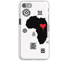 AFRICAN ADINKRA CASE iPhone Case/Skin