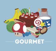 Gourmet - Video Game Food Tee Baby Tee