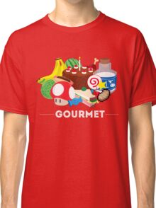 Gourmet - Video Game Food Tee Classic T-Shirt