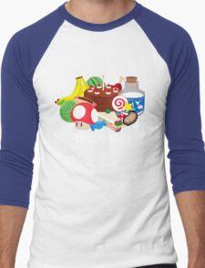 Gourmet - Video Game Food Tee Men's Baseball ¾ T-Shirt