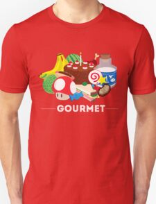 Gourmet - Video Game Food Tee Unisex T-Shirt