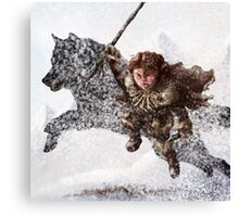 Rickon Stark post ADWD Canvas Print