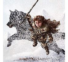Rickon Stark post ADWD Photographic Print
