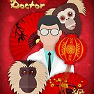 Doctor Year Of The Monkey, Chinese New Year by Moonlake