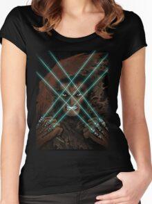 Jedi Logan  Women's Fitted Scoop T-Shirt