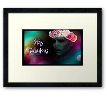 Fabulous Voldemort Framed Print