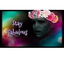 Fabulous Voldemort Photographic Print