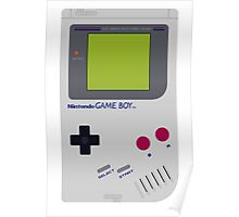 game boy hand held Poster