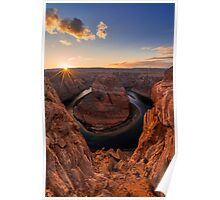 Horseshoe Bend Poster