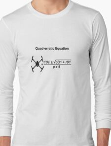 Quad-erratic Equation Long Sleeve T-Shirt